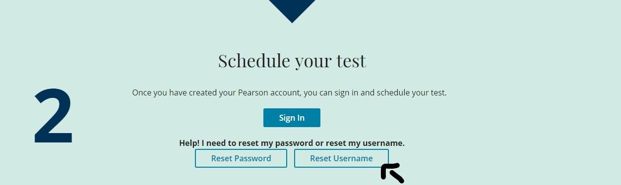 pte account forgot username
